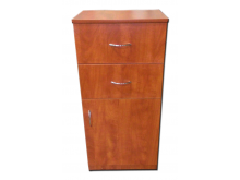 Two Drawers Styling Station W-330 - Pearwood,Black, Cherry Available
