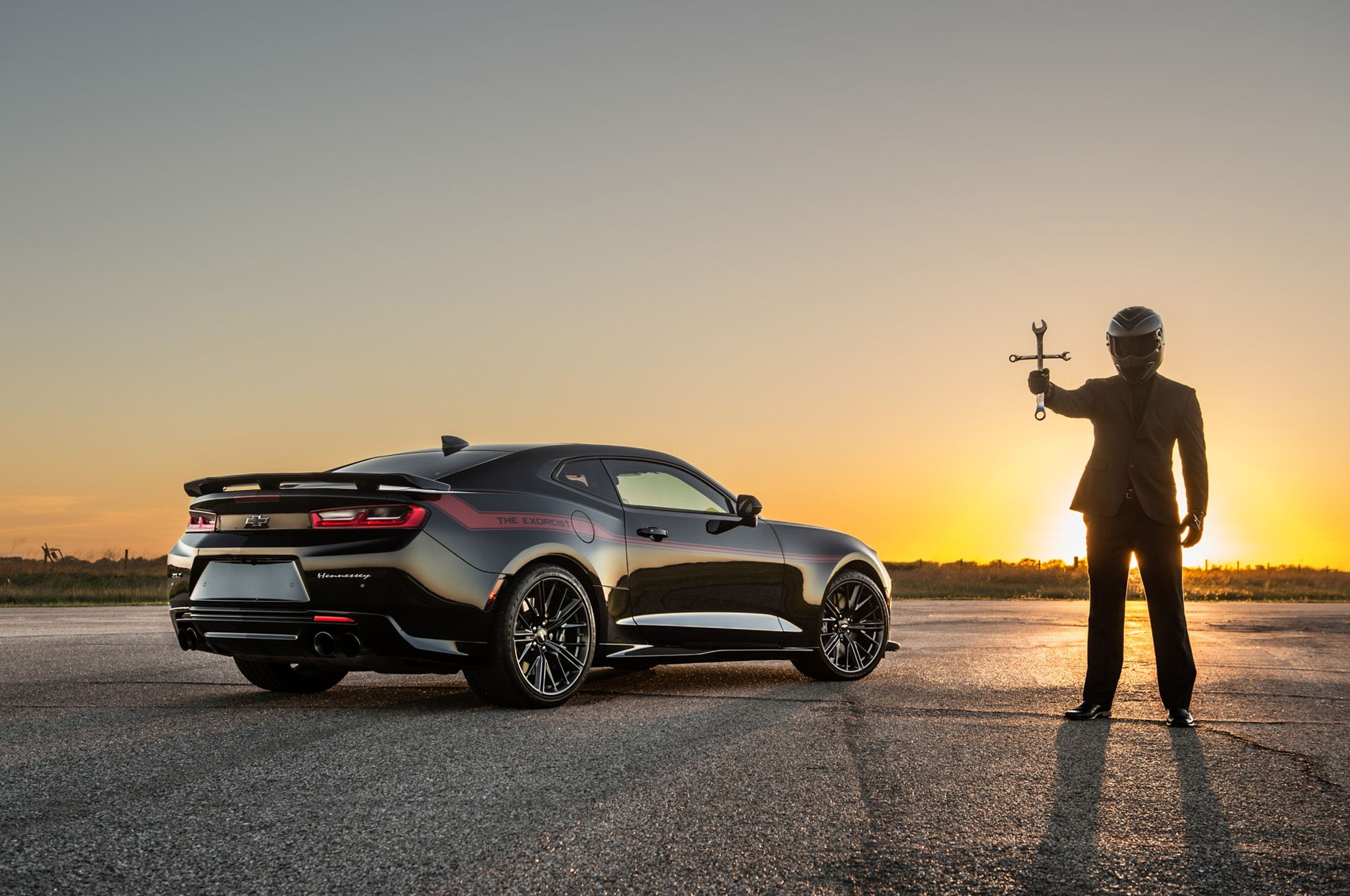 Hennessey S New Exorcist Chevrolet Camaro Zl1 Set To Terrorize