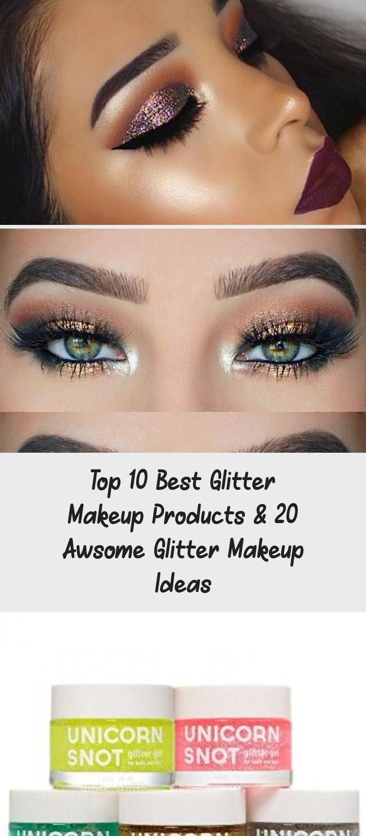 Top 10 Best Glitter Makeup Products & 20 Awsome Glitter