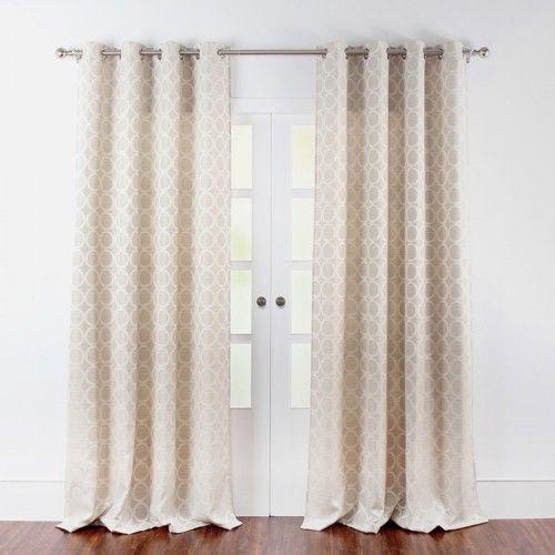 ANNLI Drapery Panel (Ivory) - Drapery Panels - Drapery Panels | Curtains | Rod Kits - Home & Decor