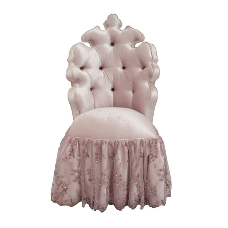 Charming Haute House Home | Chairs | Queenu0027s Vanity Chair
