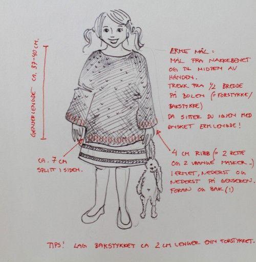 "Sophias ""Skappel genser!"" | Genser"