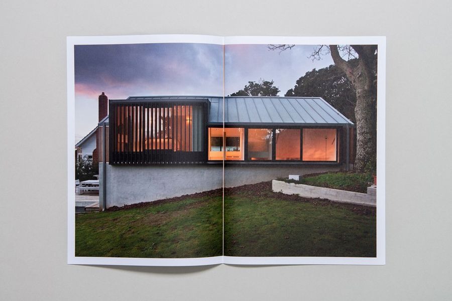 Print designed by Inhouse for award-winning Auckland based architectural practice Space Division