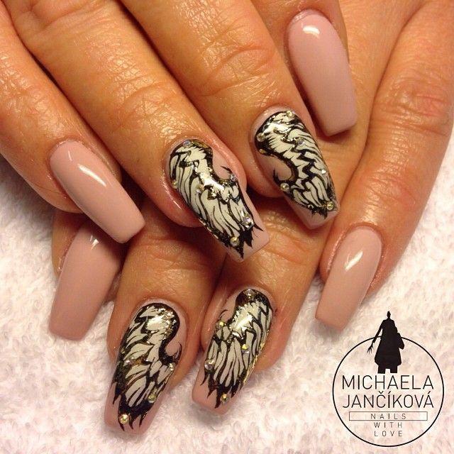 Angel Wing Nail Art Google Search