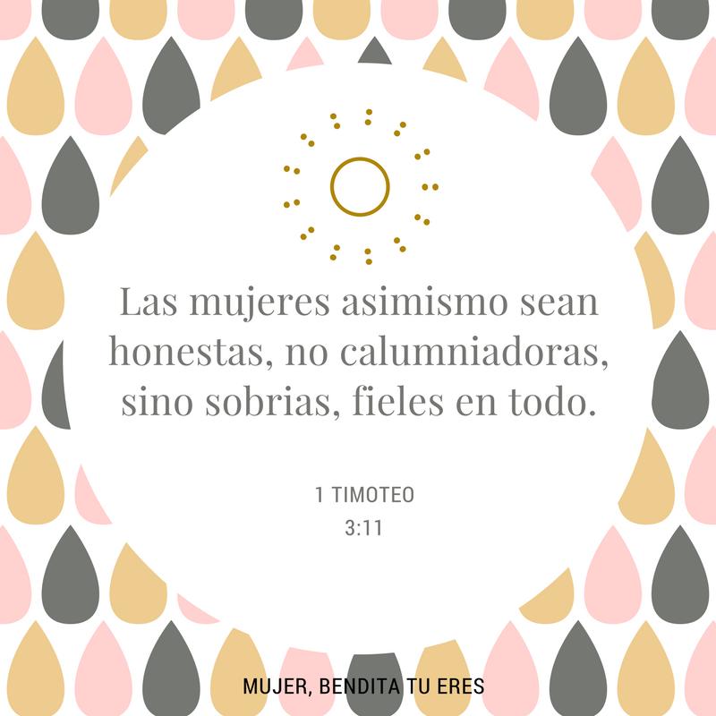 #Mujeres 1 Timoteo 3:11