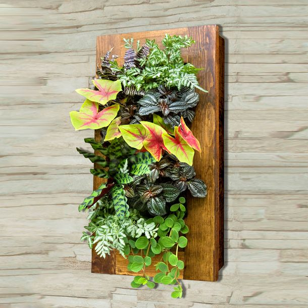 12 Ideas For Quirky Plant Containers To Jazz Up Your Garden: Mount The Included Bracket On