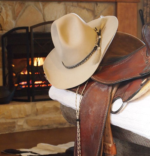 Cowboy hat from Catalina Hatters in downtown Bryan Texas. Horsehair band  and stampede string. 85349bb27ea
