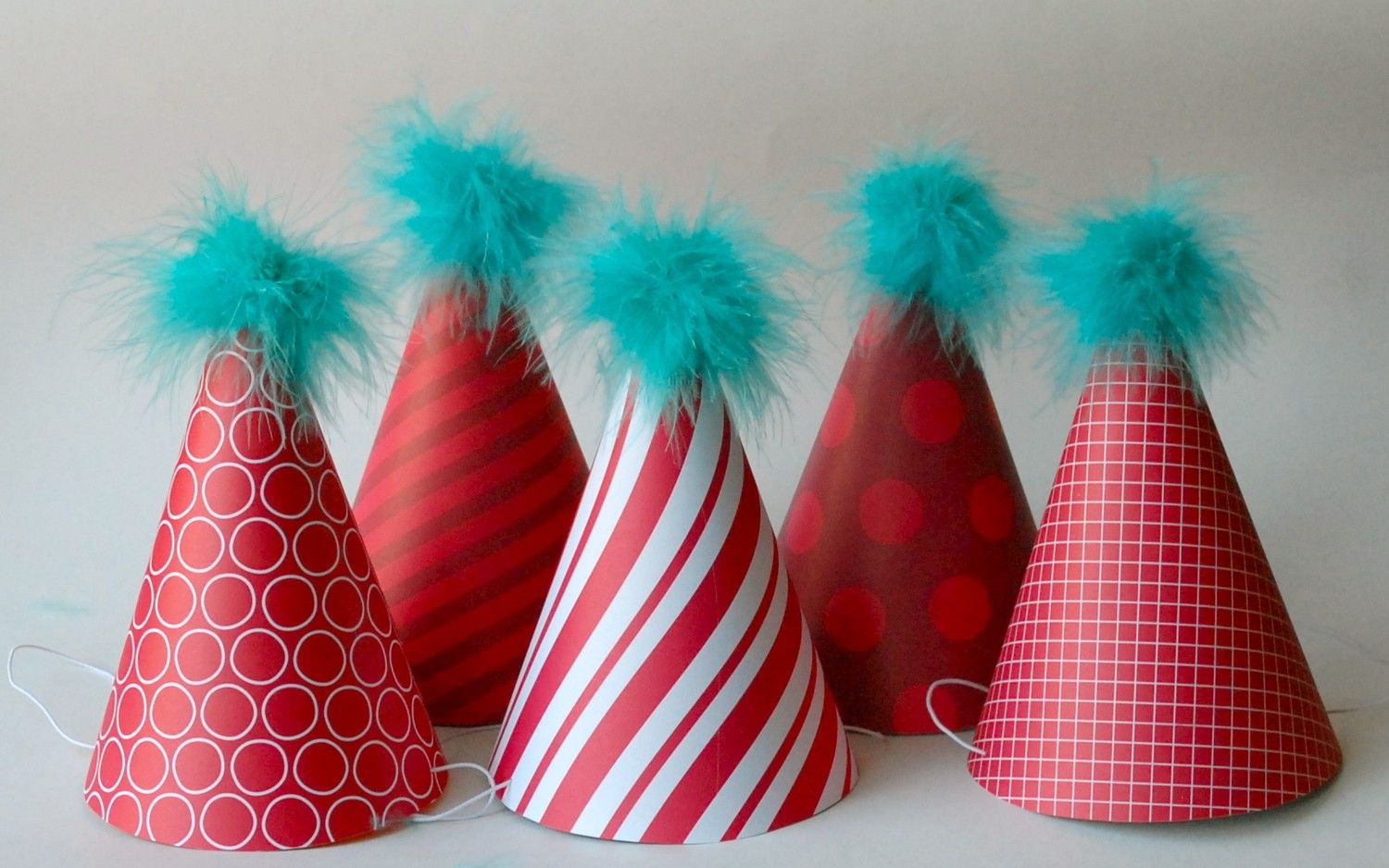 Decor Custom Party Hats Dr Seuss Thing 1 2 For Adults