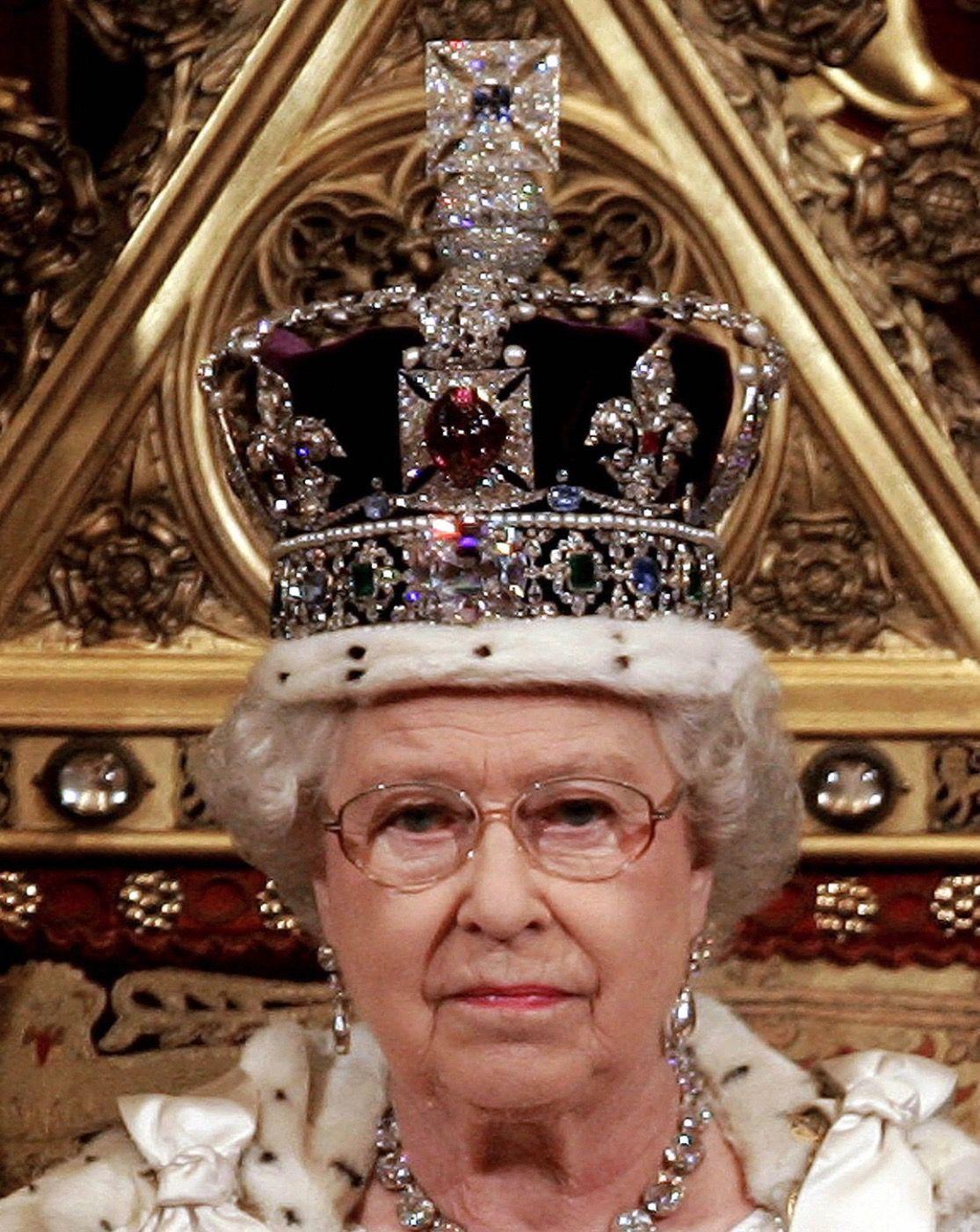 Heavy is the Crown Royal crown jewels, British crown