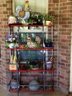 78c5bc4fa183dcd385b7b3e5f9db6e7f (236×314) | Bakers Rack | Pinterest | Bakers  Rack, Outdoor Shelves And Patios