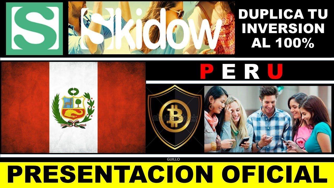 SKIDOW  PERU - EXPLICACION - REGISTRO - COMO FUNCIONA - PRESENTACION OFI...