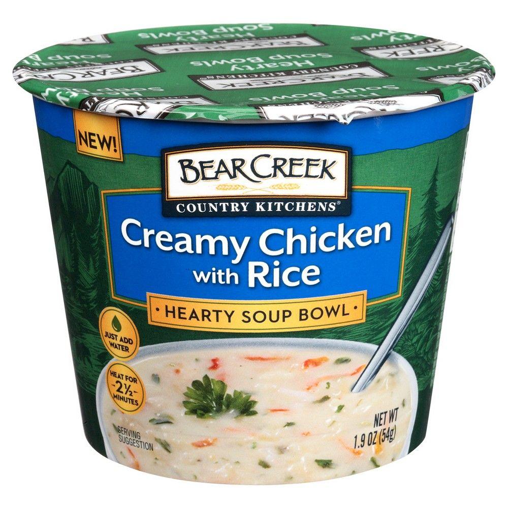 Bear Creek Creamy Chicken with Rice Soup Bowl 1.9 oz