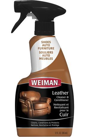 Weiman Leather Cleaner Polish With