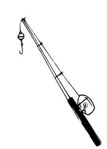 Fishing Pole Black And White Clipart Panda Free Clipart Images