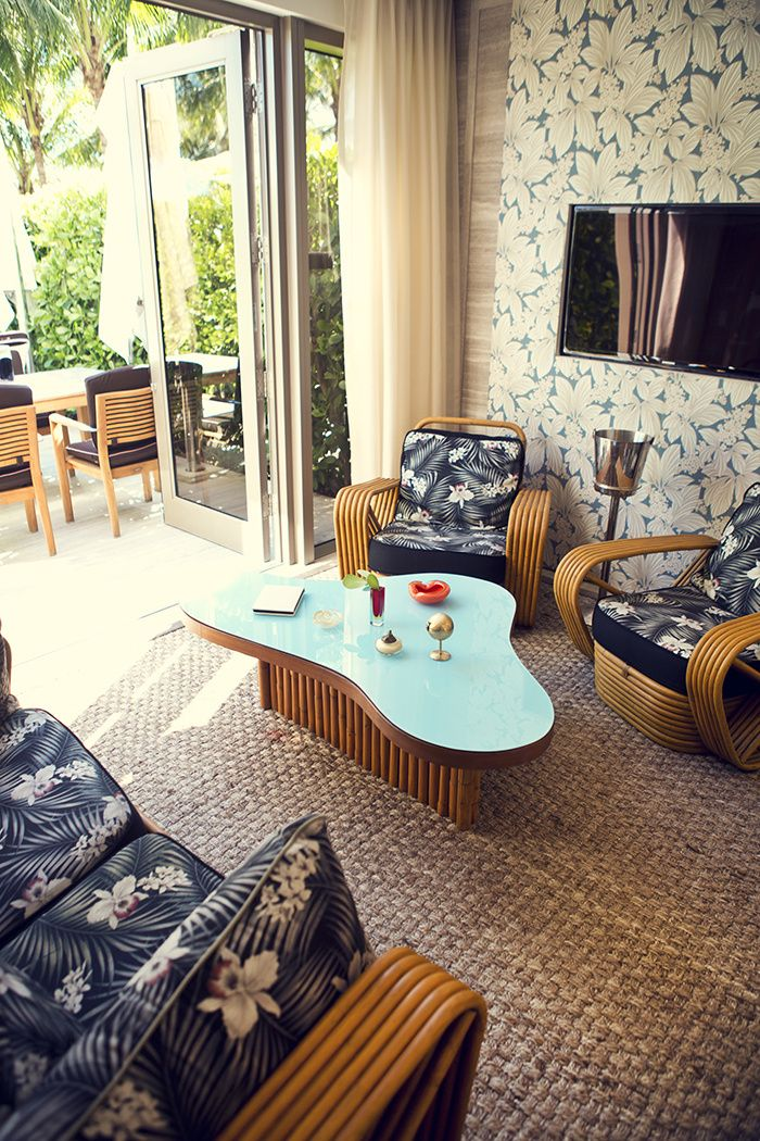 Une cabane de luxe à Miami | Interiors