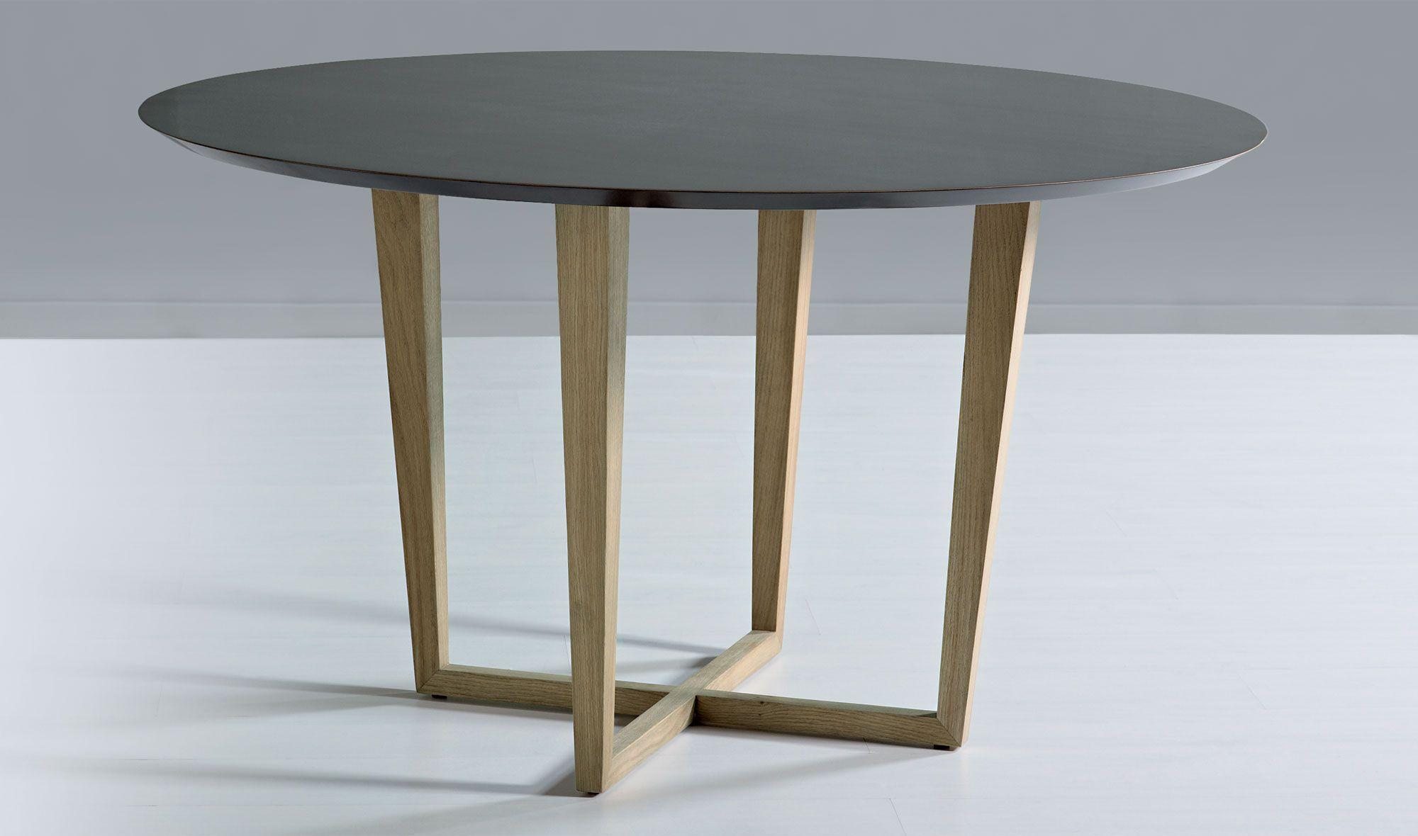 Muebles COSAS de ARQUITECTOS: Mesa de comedor redonda Vintage Sanda ...