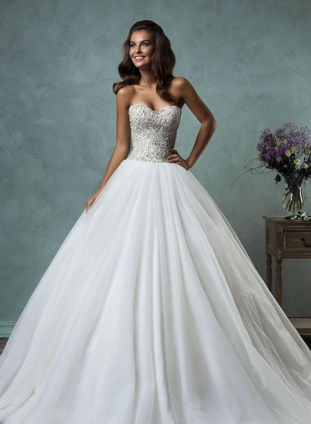 25+ Beautiful Glitter Ballroom Wedding Gowns For Your Amazing ...