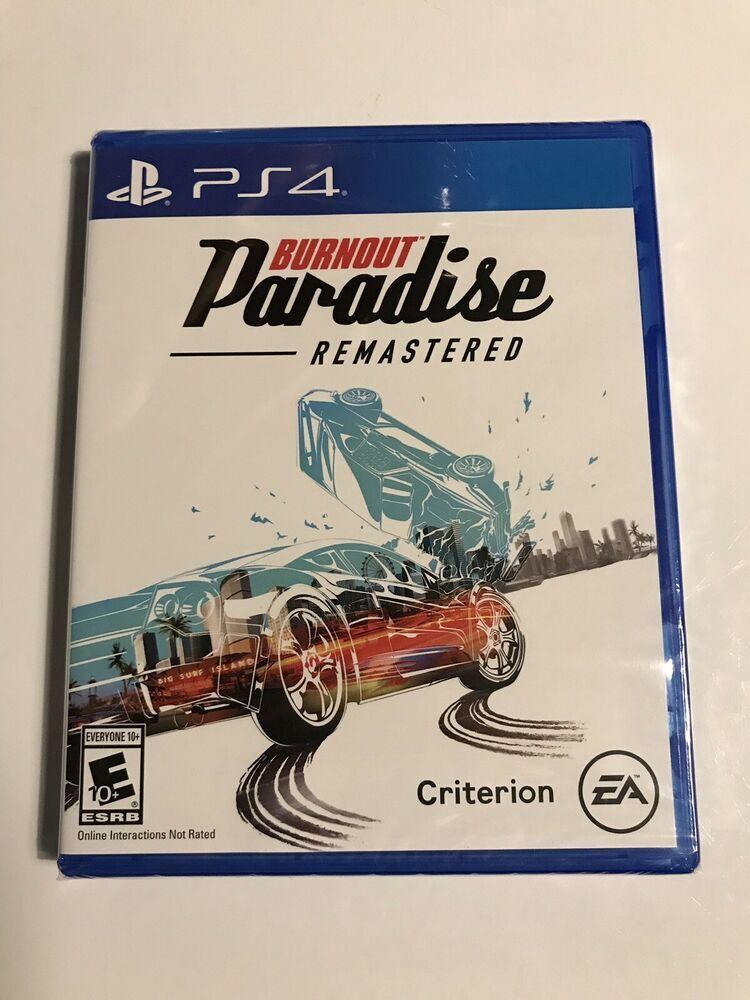 NEW & SEALED Burnout: Paradise - Remastered (Sony PlayStation 4