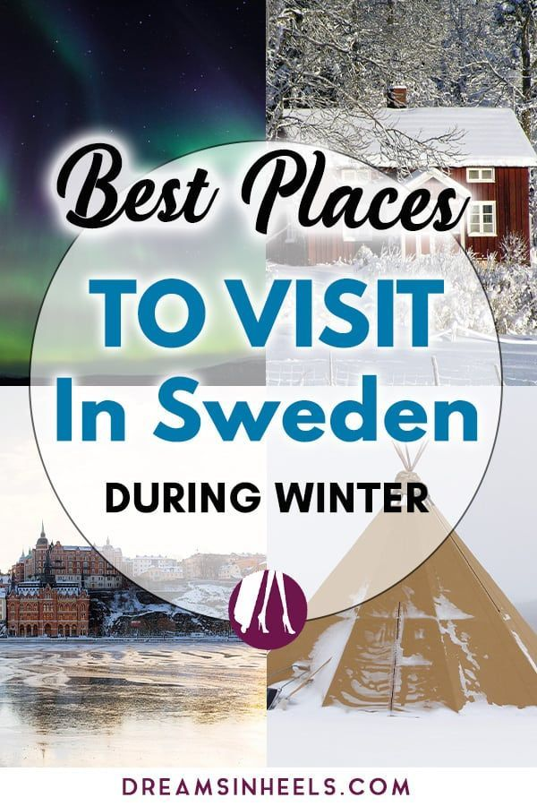 Planning to visit Sweden in winter? Sweden winter holidays can be quite magical and special. There are plenty of things to do in Sweden during the winter season. In this post, you can find the best places to visit in Sweden in winter! #Sweden #Scandinavia #EuropeTravel #Swedish #Wintertravel #Swedentravel #Stockholm #Gothenburg #Lapland #Northernlights #Scandinaviatravel #traveltips #visitsweden via @dreamsinheels