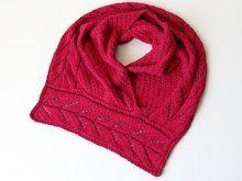 Knitting pattern cowl Lasbelin