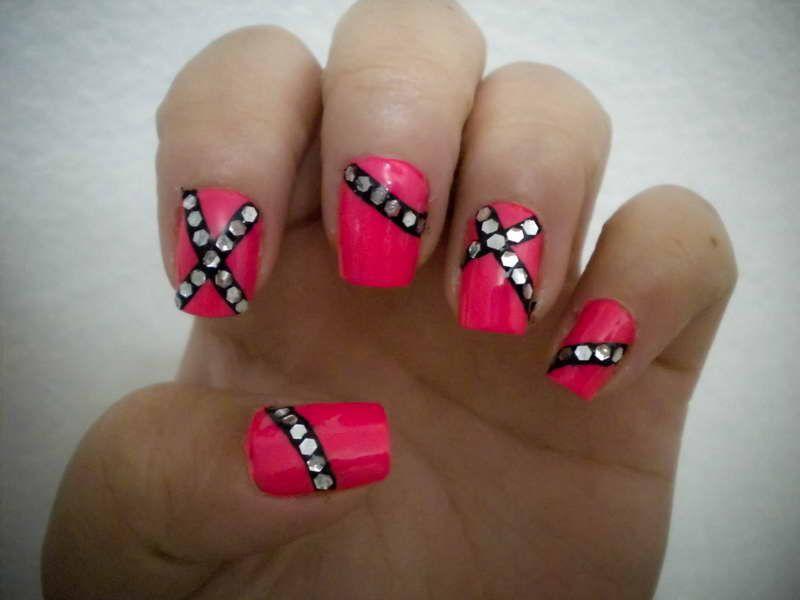 Pink Nail Designs With Cool | Nails | Pinterest | Pink nails, Hot ...