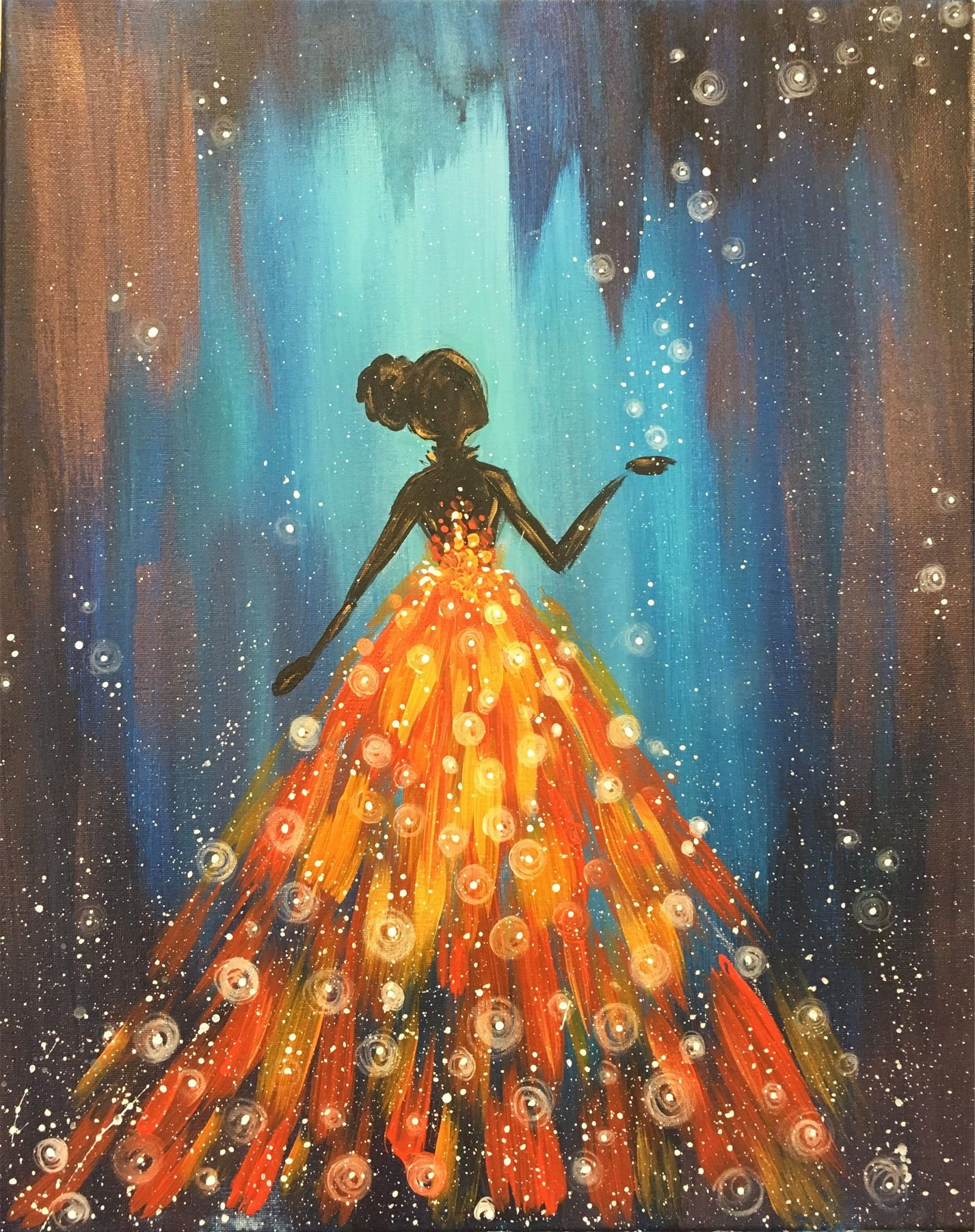 Great Paintings : great, paintings, Firefly, Dance, Elegant,, Great, Painting, Customize!, Color, Paint, Dress?, Painting,