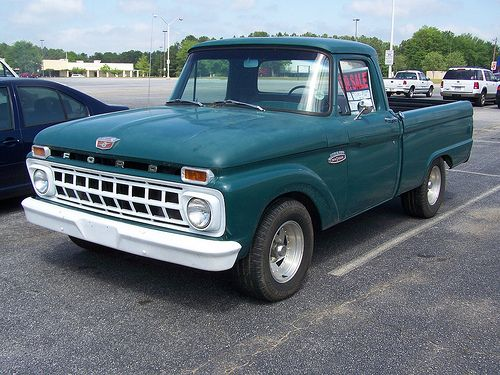 1965 Ford F100 1965 Ford F100 Classic Ford Trucks Ford Trucks