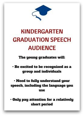 Kindergarten Graduation Speech Audience  Ideas For The House