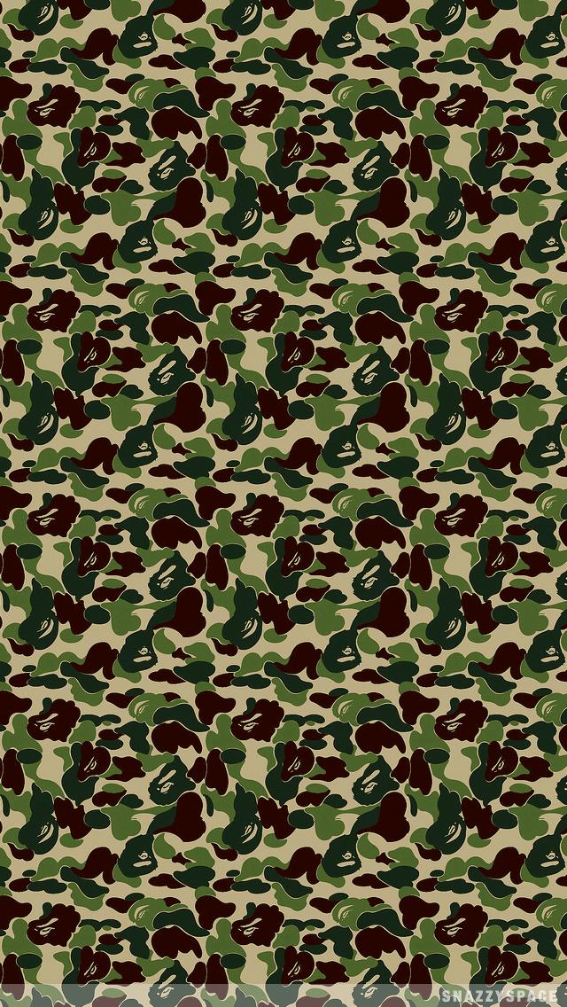 640x960 Bape iPhone Wallpapers Wallpaper Zone