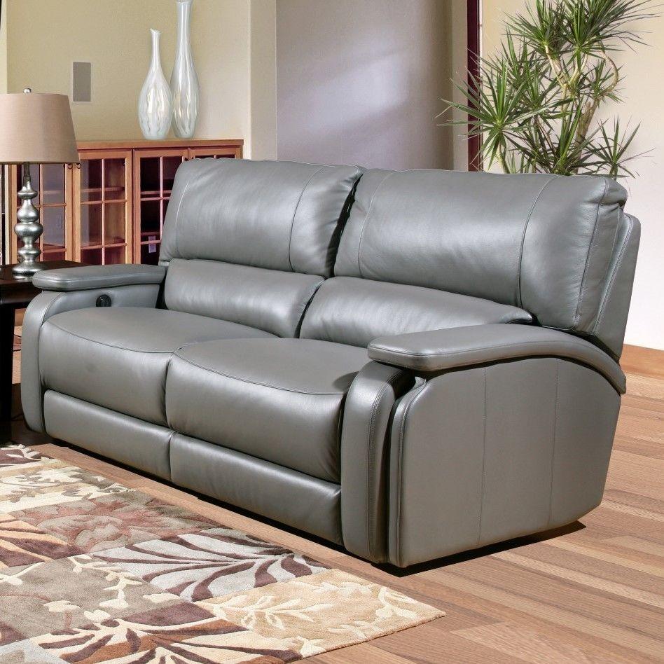 Parker House Furniture Grisham Dual Leather Power Reclining Sofa Power Reclining Sofa Sofa Reclining Sofa