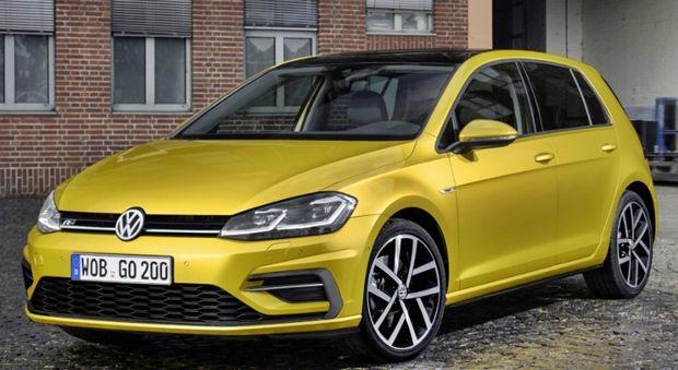 2018 Vw Golf Canada Facelift Volkswagen Volkswagen Golf I Volkswagen Golf