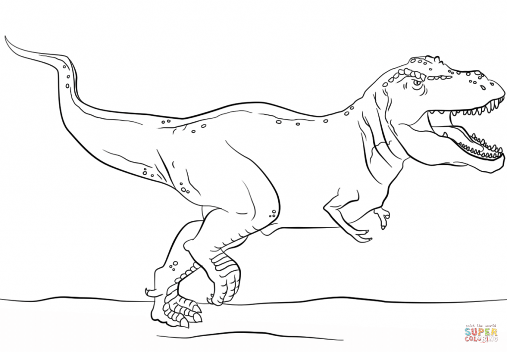 T Rex Coloring Pages coloring.rocks! Dinosaur coloring