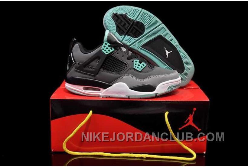 http://www.nikejordanclub.com/nike-air-jordan-4-womens-dark-grey-green-glow-cemenst-grey-black-shoes-hizxb.html NIKE AIR JORDAN 4 WOMENS DARK GREY GREEN GLOW CEMENST GREY BLACK SHOES RFTZ8 Only $84.00 , Free Shipping!