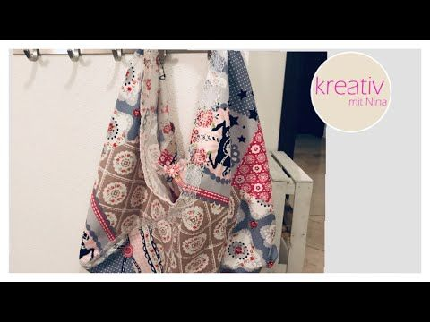 Photo of Grocery bag Quick & Easy Vintage Look | Tasche nähen für Anfänger ohne Schnittmuster | sew easy