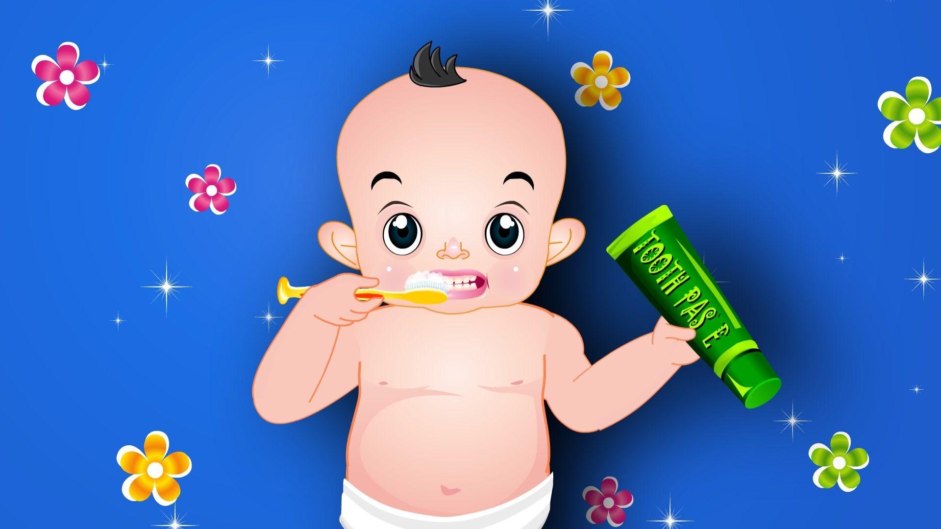 Brush Your Teeth Nursery Rhyme ,The Good Habits Song ,Baby