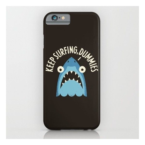 Great White Snark iPhone 6s Case ($35) ❤ liked on Polyvore featuring accessories, tech accessories and iphone & ipod cases
