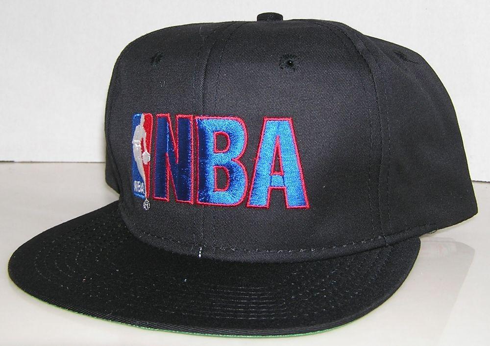 46c7252b NBA Basketball Big Logo Vintage 90's AJD Brand Snapback Hat Jordan Pippen  SHAQ #AJD