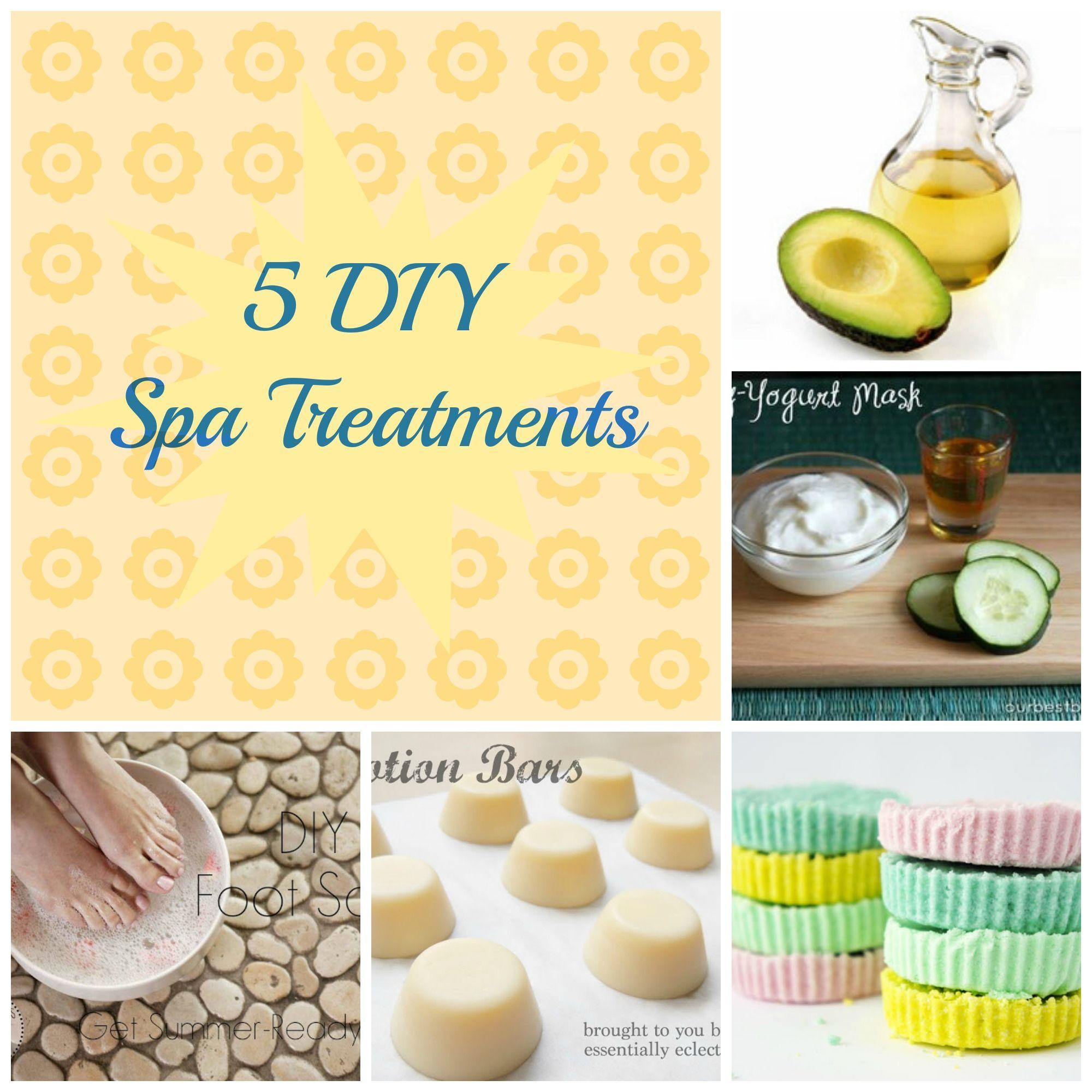 Just for Mom! 5 DIY Spa Treatments. | DIY Baby/Kid Ideas ...