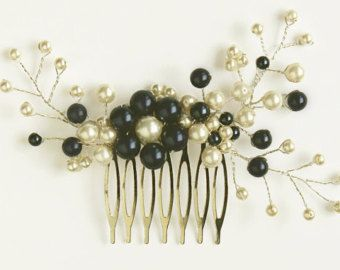 Sale Big navy blue  Pearls Crystal comb Hair Accessories Wedding piece white ivory Bridal Veil attachment blue silver gray pink mauve peach
