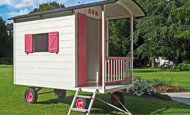 wwwpapiloubricolou ma-roulottephp Play Kitchens - construire une cabane de jardin en bois