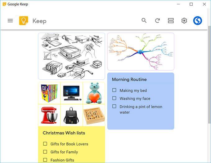 Google Keep Desktop Best Portable APP for Windows / Mac