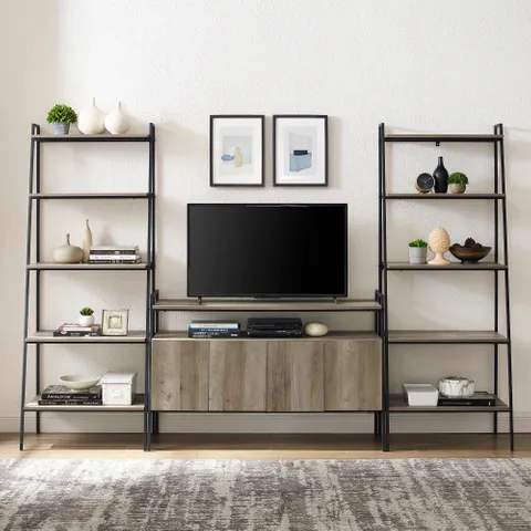 Idea For Living Room Need Shelves At Same Level As Tv Stand Tv Stand Decor Living Room Living Room Tv Stand Tv Stand Decor