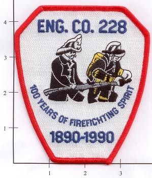 Engine 228 Fire Patch v1 Anniversary