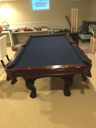 Presidential Billiards Pool Table 8u0027 Sold