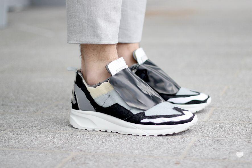 Margiela deconstructed sneaker SS15