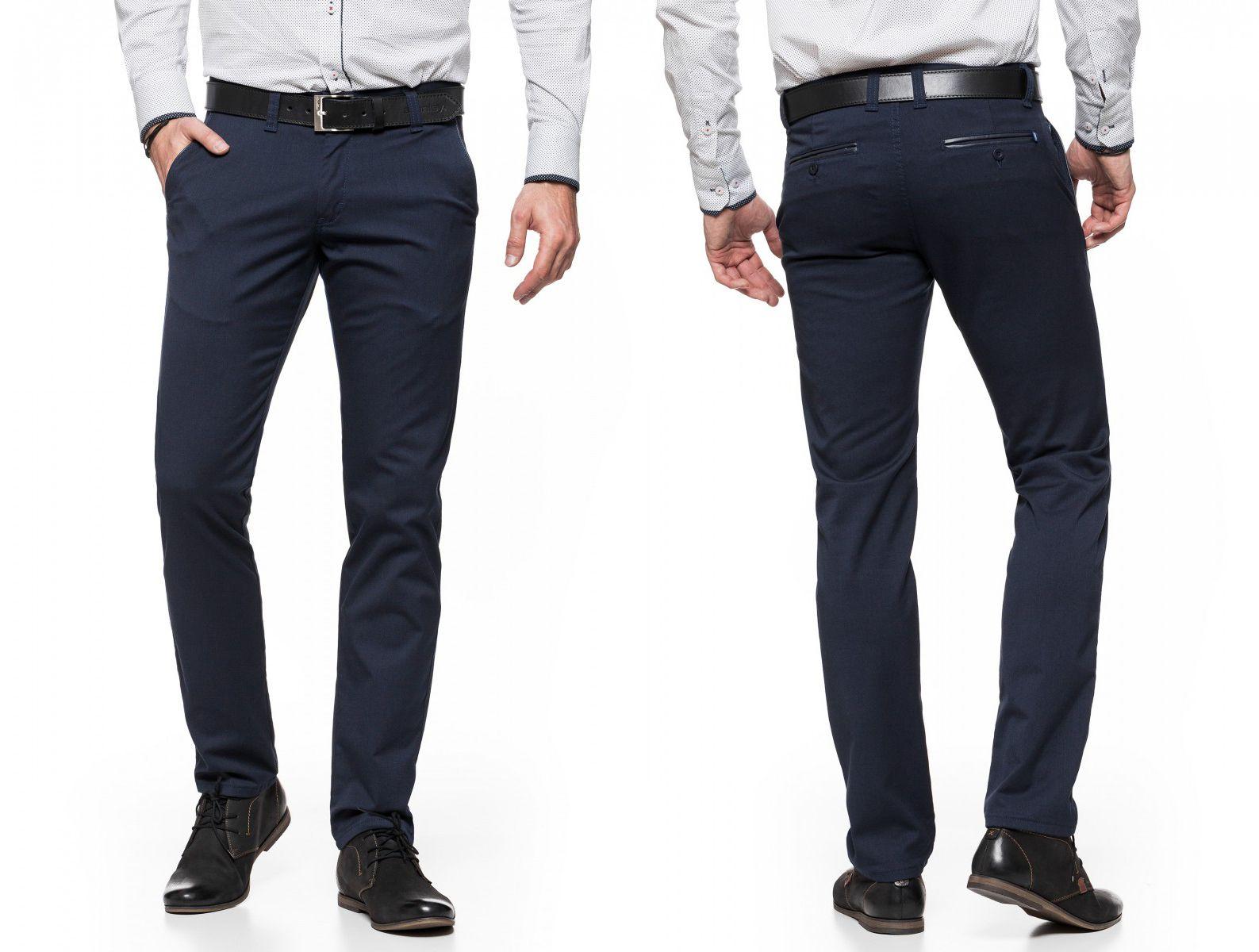 Spodnie Meskie Chinosy Vankel Jeans 026 122cm L32 Skinny Suit Pants Mens Skinny Suits Suits