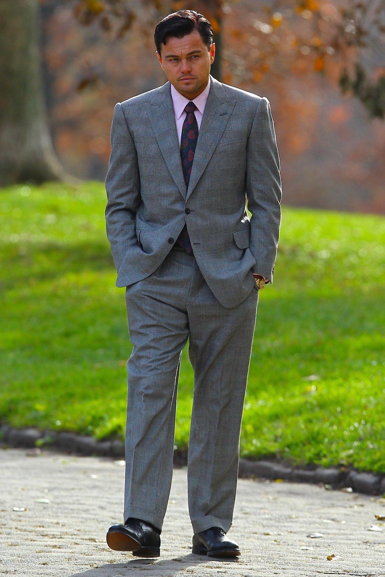 cf0838c0fdf Leonardo DiCaprio as Jordan Belfort in The Wolf of Wall Street (2013 ...