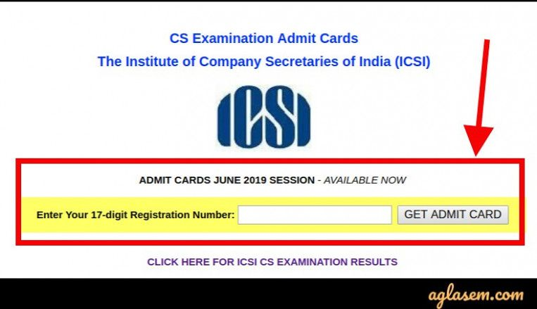 Cs Professional Admit Card June 9 Cards Company Secretary Examination Results