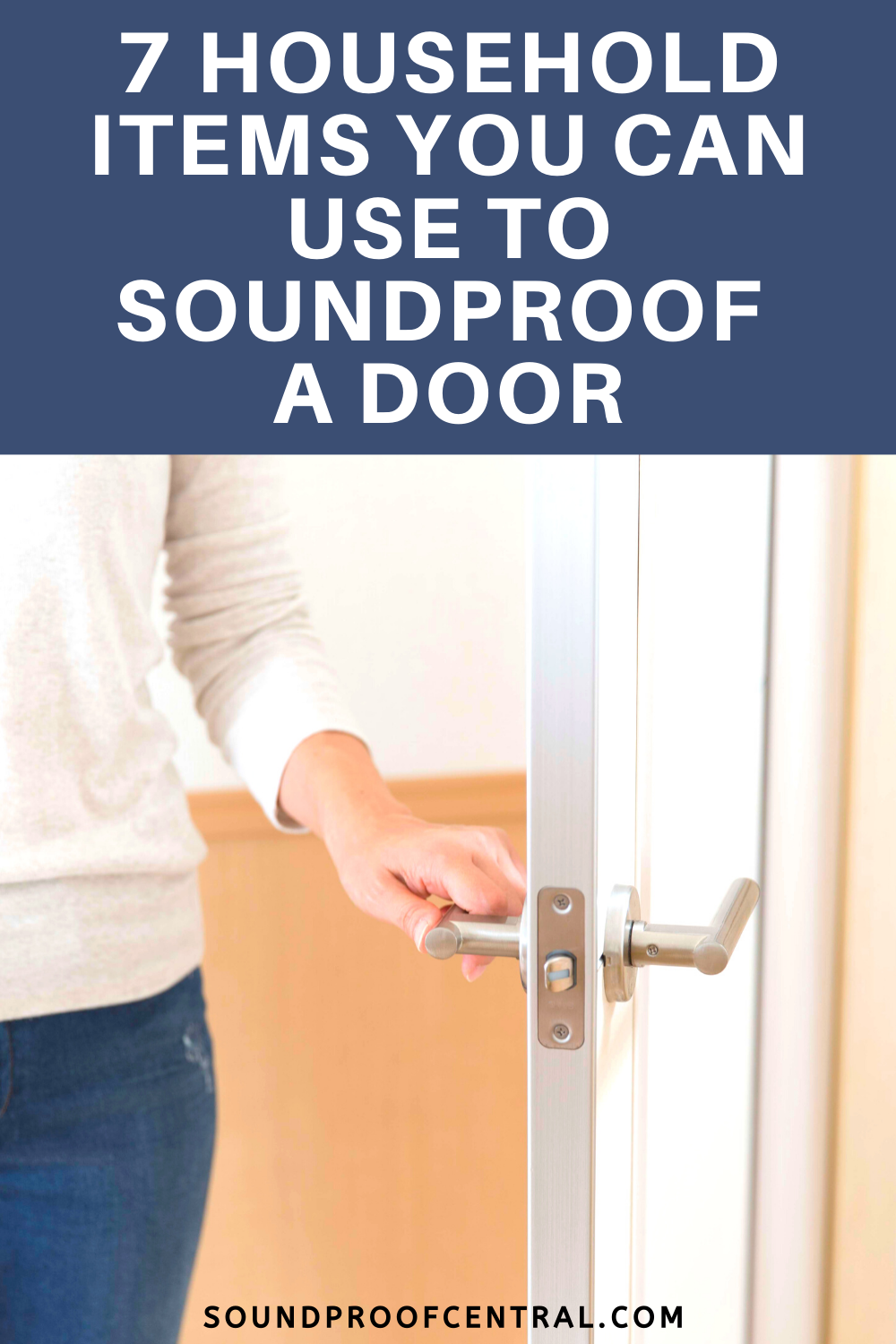 7 Household Items You Can Use to Soundproof a Door ...