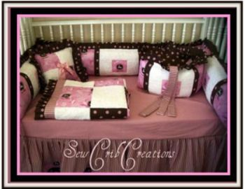 Pink John Deere Baby Bedding With Polka Dots Im In Love - John deere idees de decoration de chambre